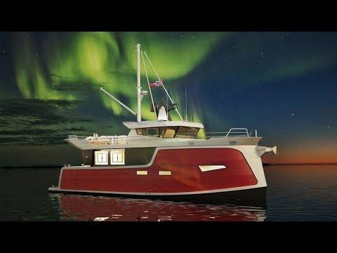 The Trondheim 40 Electric Trawler concept design