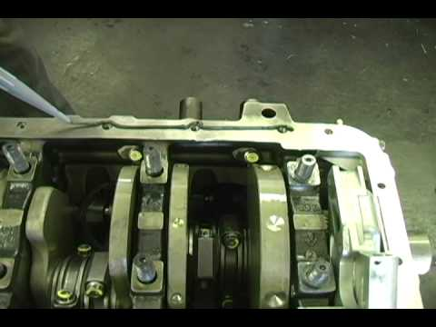 Diesel Engine Working >> duramax Main Bearing Gorilla Girdle Block stiffener - YouTube