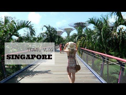 Singapore Travel Vlog 2017
