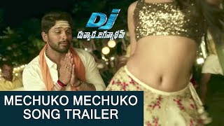 Mecchuko Song Trailer -  DJ Video Song Promo -  Allu Arjun, Pooja Hegde, Harish Shankar  DSP