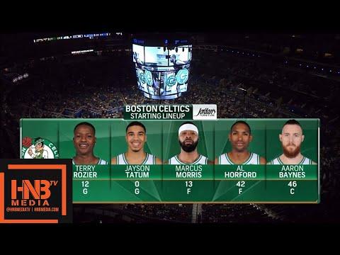 Boston Celtics vs Orlando Magic 1st Qtr Highlights / March 16 / 2017-18 NBA Season