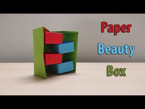 How to make Paper Jewellery Box: DIY Craft : Paper Craft