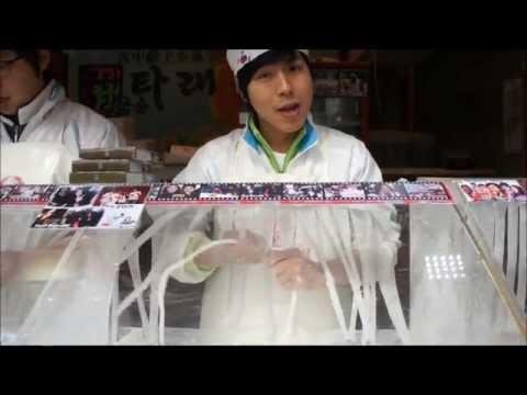 龍のひげ(韓国はちみつのお菓子)