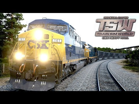 TSW: CSX Heavy Haul - Coal Loading Process