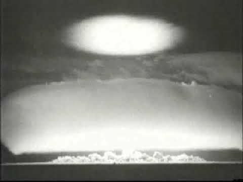 Weapon of mass destruction.Atomic test Ussr, RDS-3,1951 ...