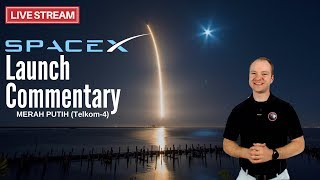 SpaceX Falcon 9 Launch for Merah Putih (Telkom-4) 🔴 Live Launch Commentary