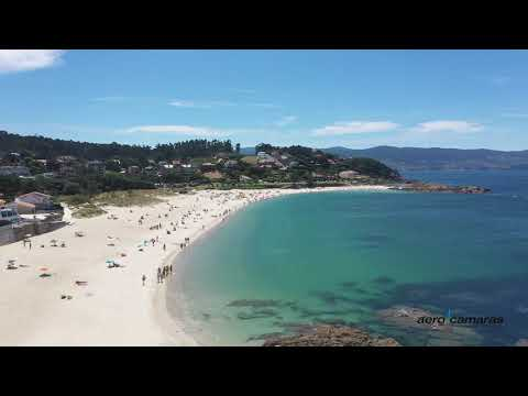 Los drones controlarán las playas de Sanxenxo