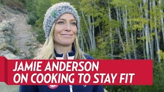How Jamie Anderson Stays Fit