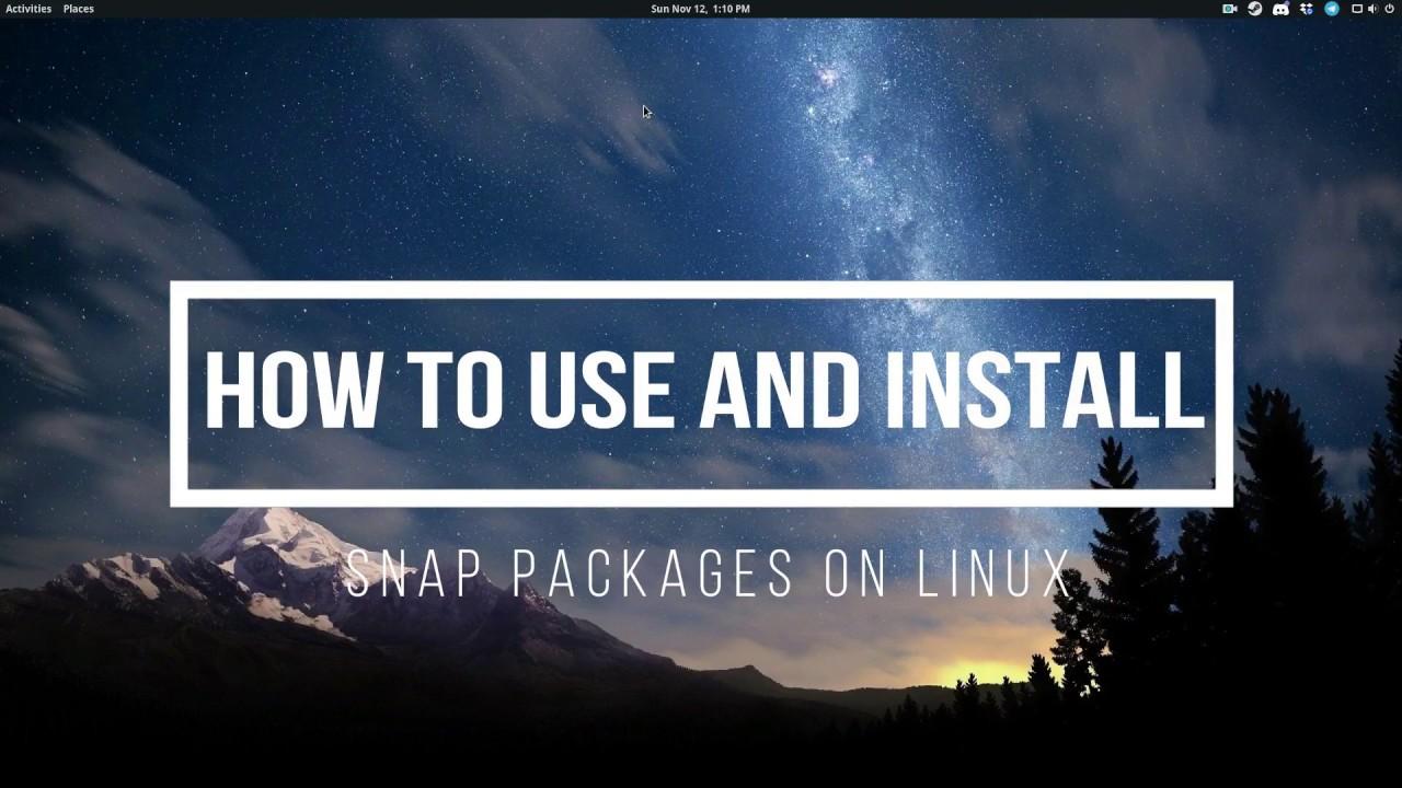Snap Install Intellij