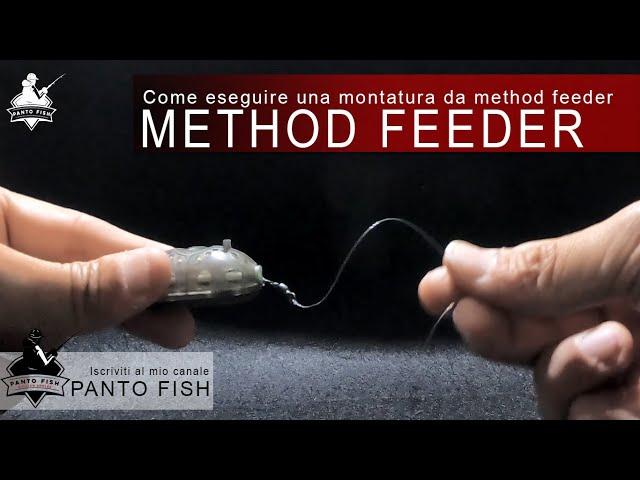 Come eseguire una montatura per la pesca a method feeder