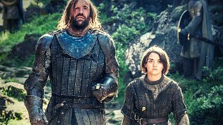 Arya Stark and The Hound - All Scenes in Game of Thrones Compilation (S01-S08) | HD 1080p