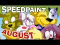 August FNAF Speedpaint! - Watch Me Draw! [Tony Crynight]