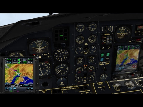 Xplane 11 - Jetstream 32 - Alaska Commuter Run: PAGA  to PANC