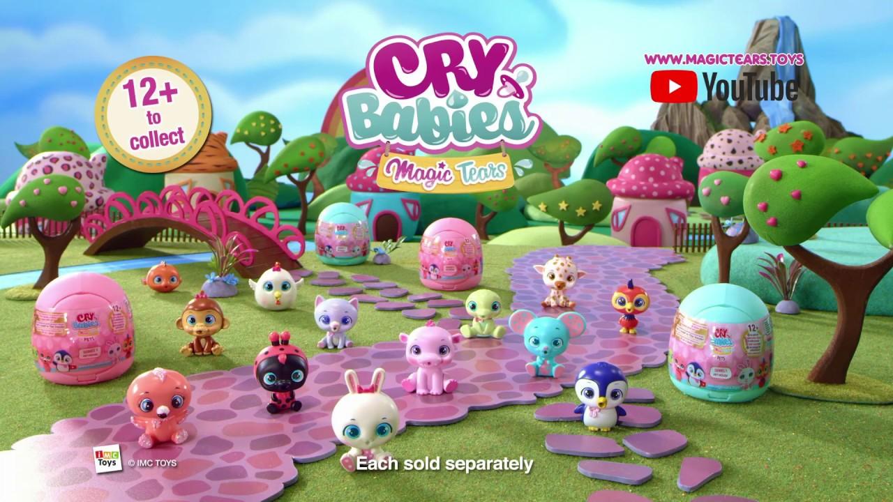 Cry Babies Magic Tears Pets - Smyths Toys