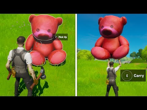 Carry A Giant Pink Teddy Bear Found In Risky Reels 100 Meters