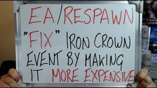 Earespawn Andquotfixandquot Iron Crown Event By Making It More Expensive