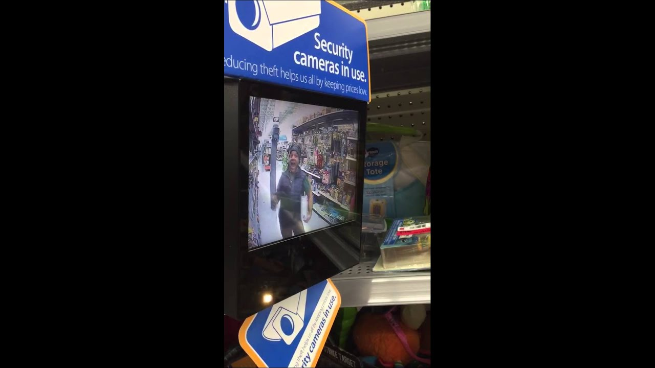 Stanford: The security camera in the toys section at WalMart ...