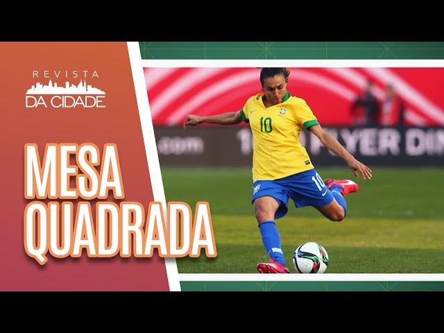 Mesa Quadrada: Ícones do esporte feminino - Revista da Cidade (08/03/19)