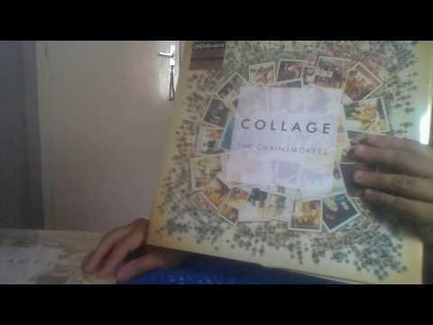 the chainsmokers  collage  unboxing  white vinyl