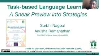 [COOL Webinars | RTICT | Education] Task-based Language Teaching