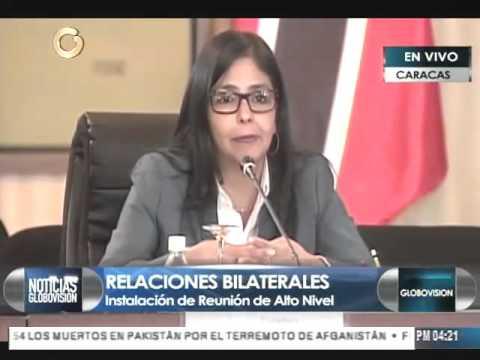 Venezuela y Trinidad y Tobago firman convenio de explotación conjunta de gas