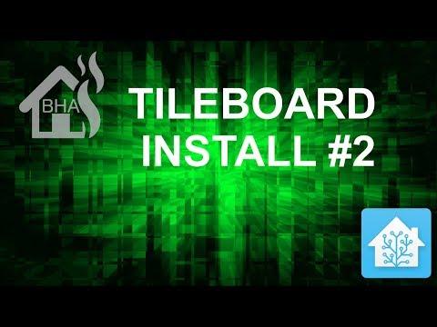 Tileboard Install #2