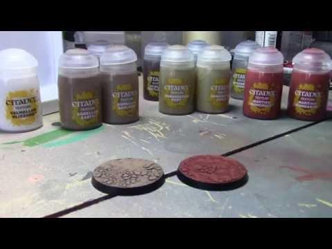 New Citadel Texture Paints Review