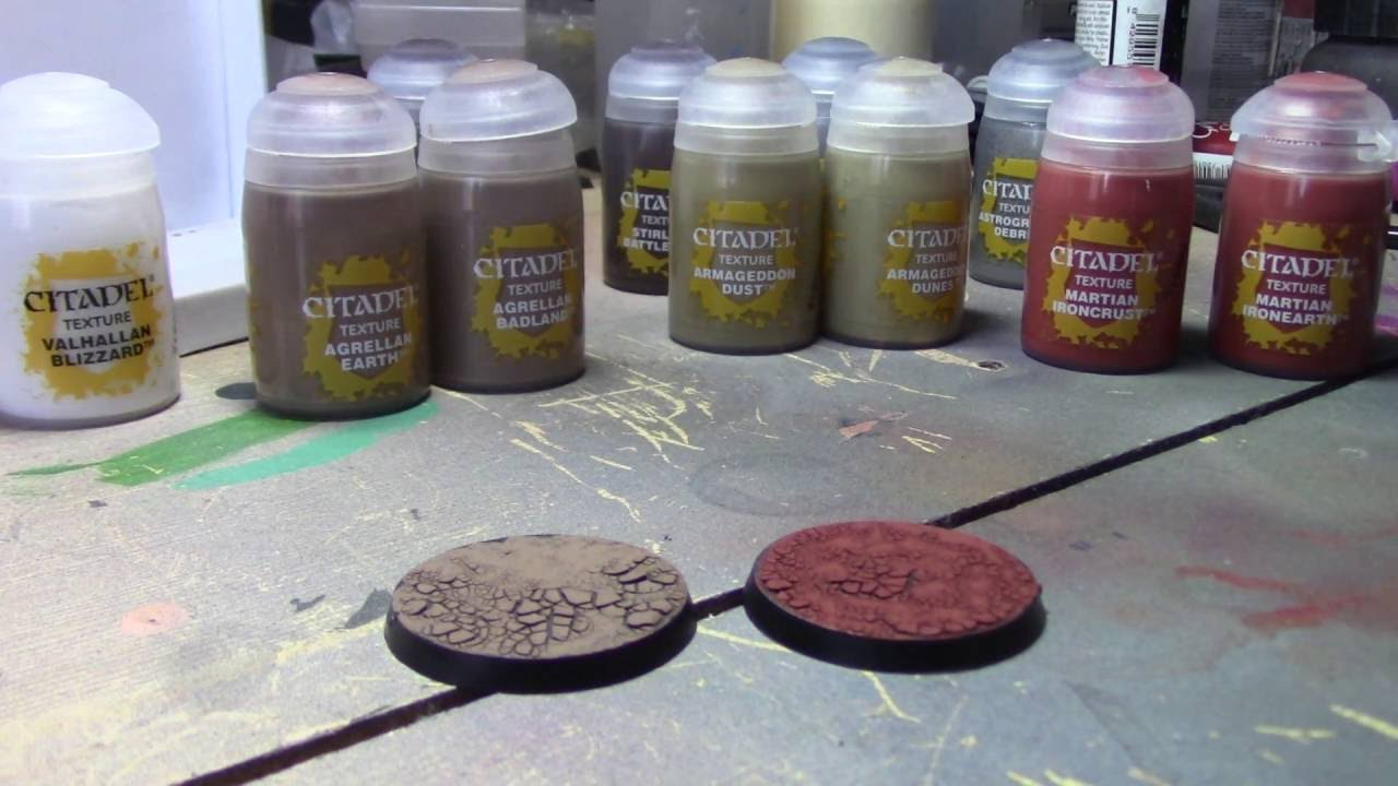 New Citadel Texture Paints Review YouTube