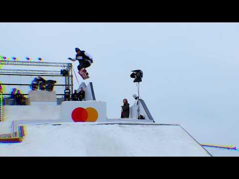В центре Киева открыли сноупарк с соревнованиями по сноуборду