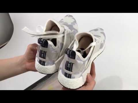 f9d283bca UA Adidas NMD XR1 PK Duck Camo White UNBOXING REVIEW - YouTube