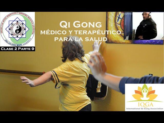 Clase 2 Parte 9: Ejercicios de elongación y calentamiento - Profesorado de Qi Gong terapeutico