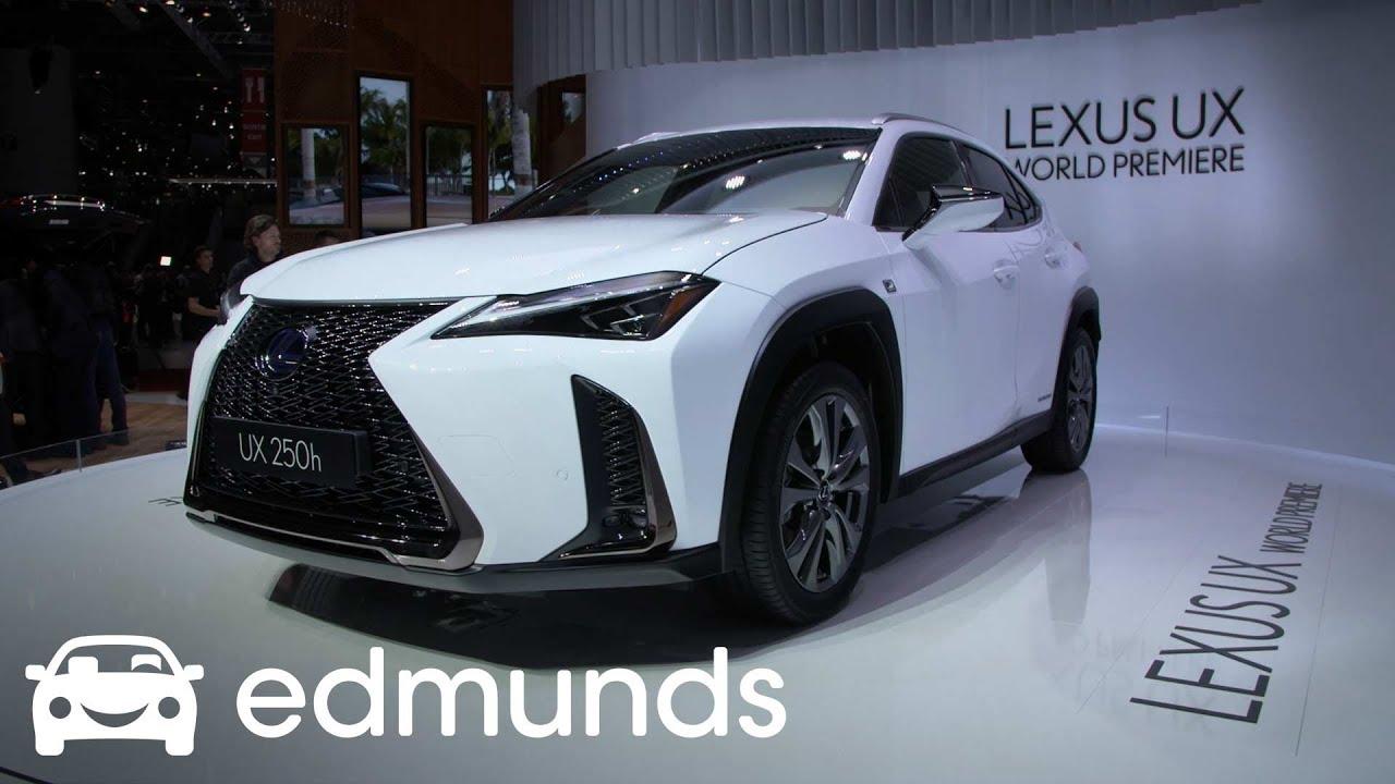 2019 Lexus UX | Unveil | Edmunds - YouTube
