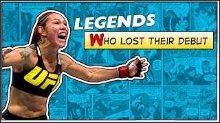 MMA Legends Who Lost Their Debut