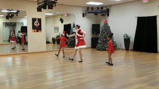 Tap Class Winter performance in Columbus Dance Center