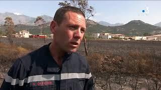 Incendie Calenzana
