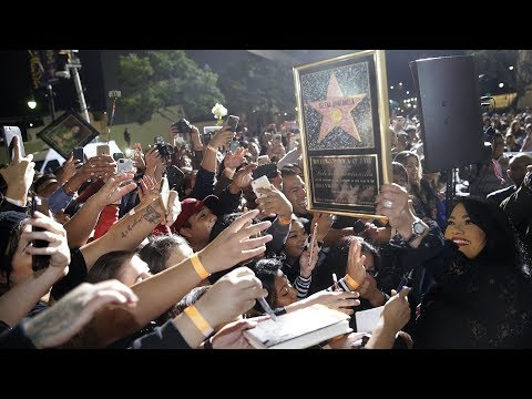 Selena - Hollywood Walk of Fame Ceremony