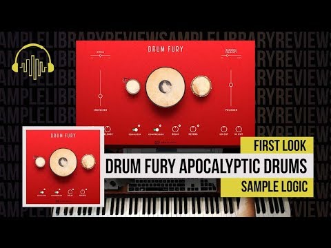 First Look: Drum Fury Apocalyptic Drums by Sample Logic