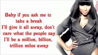 Nicki Minaj - Make Me Proud Verse Lyrics Video