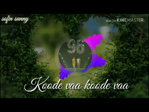 kadhale kadhale ...96 movie whats app status. subtitles