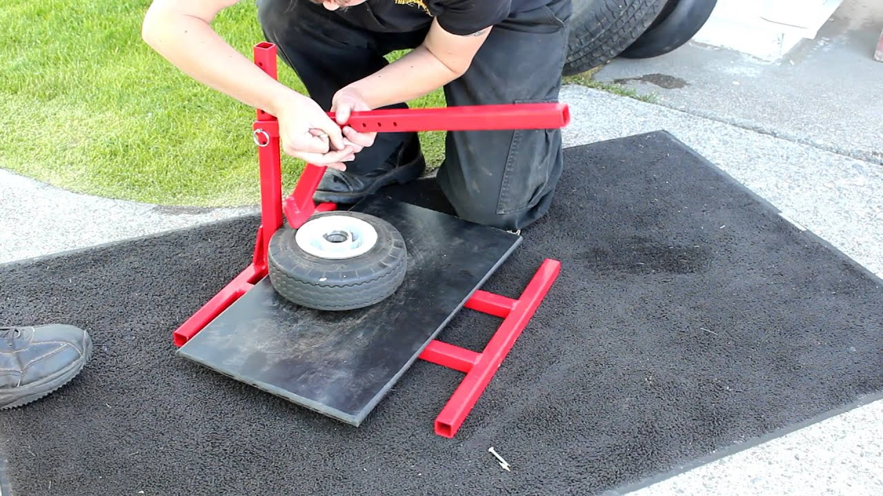 how to change atv tires by hand
