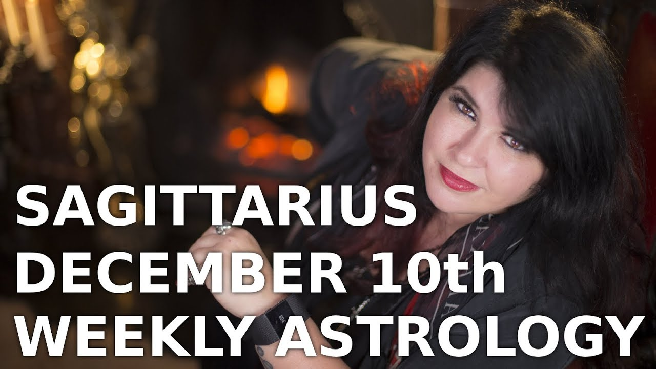 sagittarius december 3 2019 weekly horoscope by marie moore