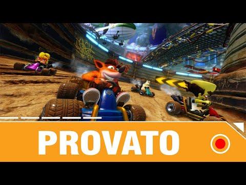Crash Team Racing Nitro Fueled Provato