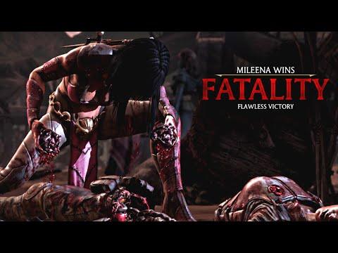 Mortal Kombat X Mileena Tasty Treat Fatality Hd 60fps Mkx