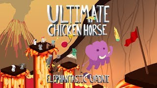 Ultimate Chicken Horse: Elephantastic Update and Xbox One Launch Date
