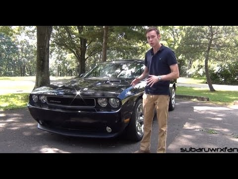Review: 2012 Dodge Challenger V6