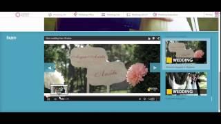 Сайт свадьбы для клиента