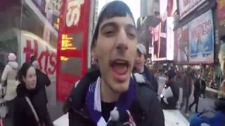 Ice Poseidon Trolls Protesters in Times Square