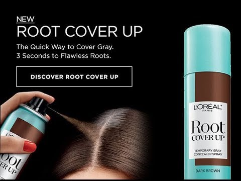 L Oreal Hair Color Up Spray Review Root Cover Up Youtube