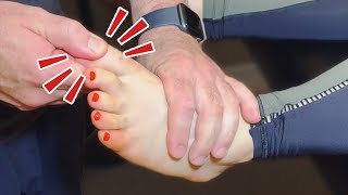 Just *TOE CRACKS* for 10 Minutes Straight | ASMR Chiropractic Adjustment Compilation