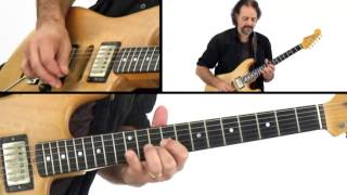 Jam Night - #31 Rhythm Performance - Blues Guitar Lesson - Andy Aledort